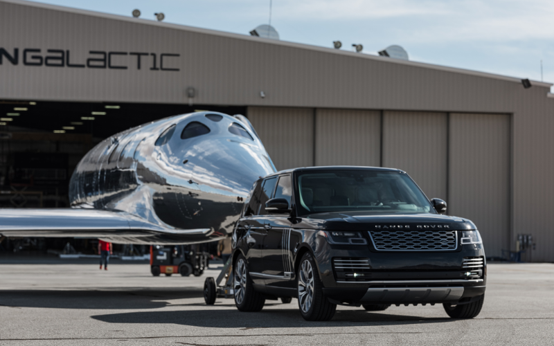 Land Rover Extends Global Partnership With Virgin Galactic