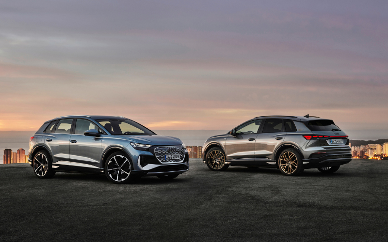 Get To Know The All-New Audi Q4 E-Tron And Q4 Sportback E-Tron