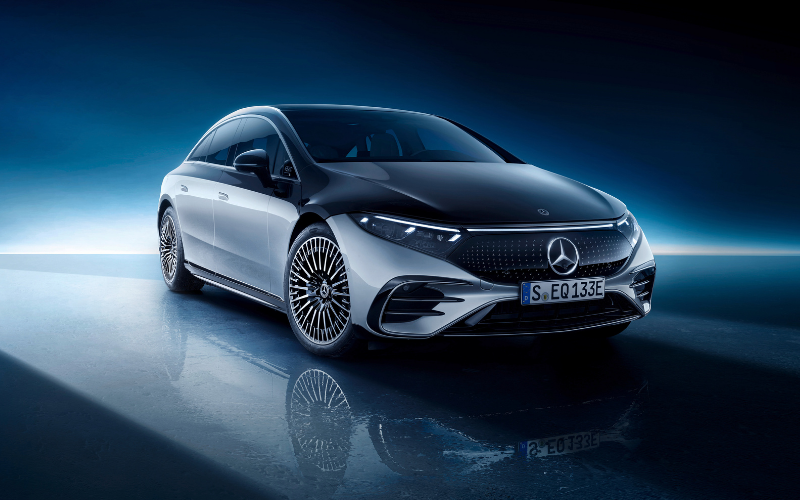The All-New Mercedes-Benz EQS Has Arrived
