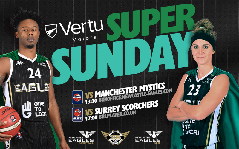Win Exclusive Codes To Watch Newcastle Eagles!