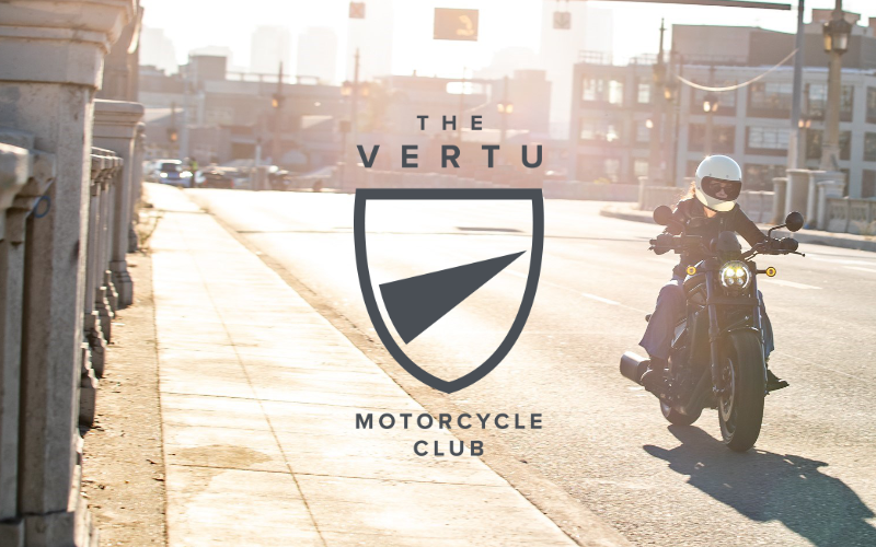Announcing the launch of the Vertu Motorcycle Club