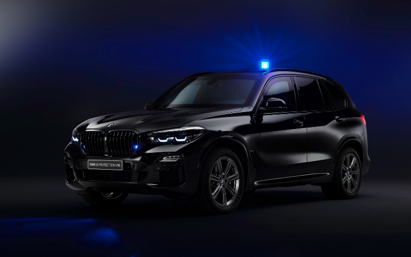 A Glimpse Inside BMW's Secretive Protection Vehicle Division