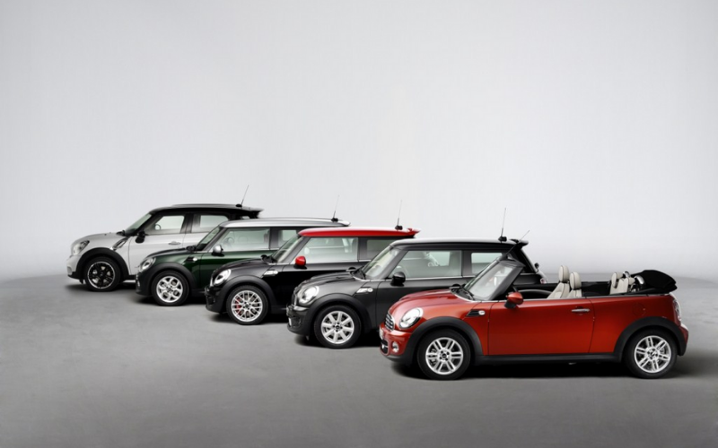 A Timeline Of The Modern MINI