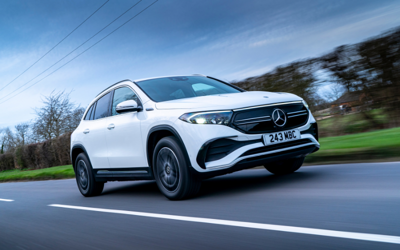 Orders Open For New Mercedes-Benz All-Wheel Drive EQA Models