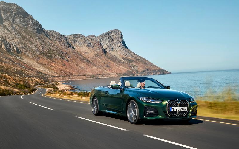 Meet The New BMW 4 Series Convertible