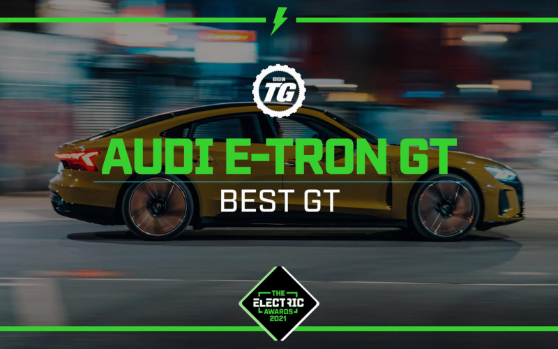 Audi E-Tron GT Named Best GT At The Top Gear Electric Awards 2021