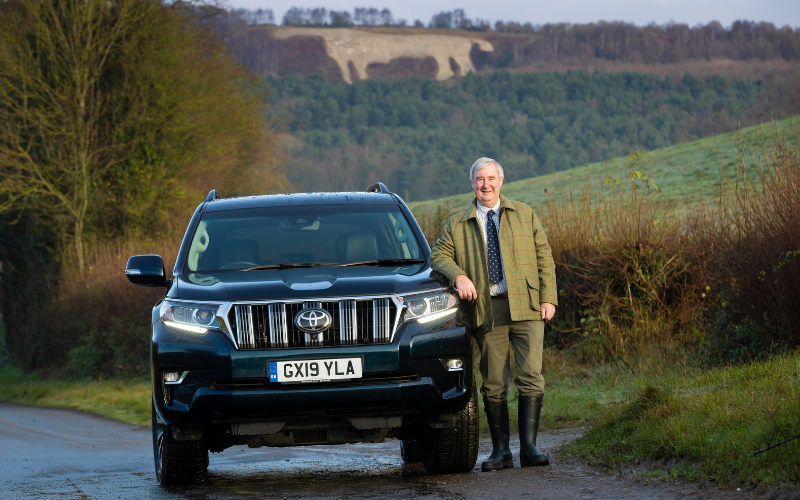 Yorkshire Vet Peter Wright And His Toyota Land Cruiser