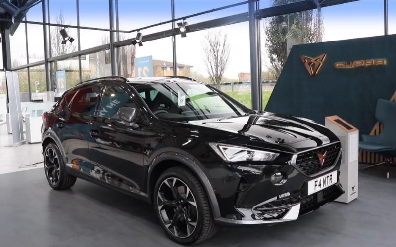 A Video Tour of the 2021 CUPRA Formentor e-Hybrid