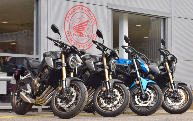 Learn To Ride With Vertu And Honda And Save £500 On A New Bike