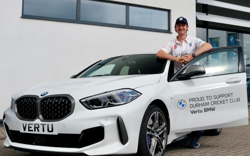 Cameron Bancroft Scores With Vertu Motors BMW