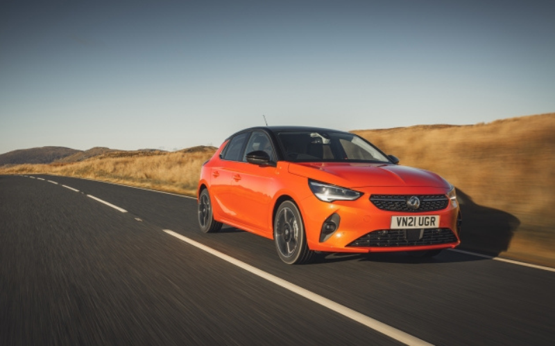 Vauxhall Corsa Remains the UK's Best-Selling New Car