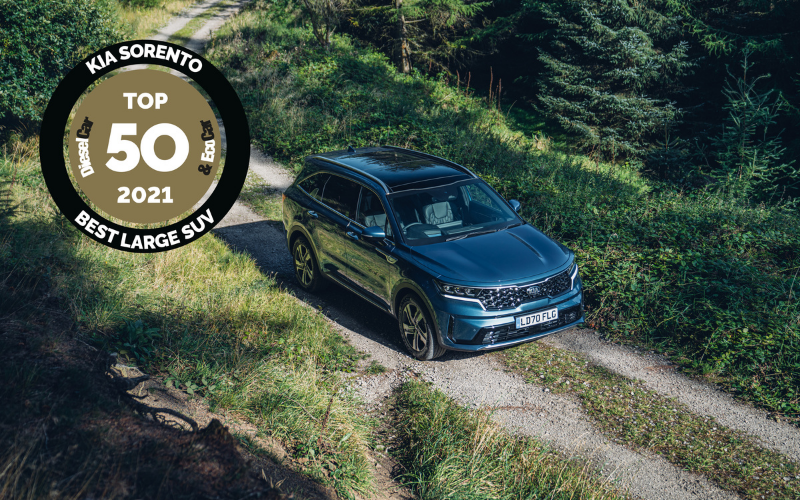 Kia Sorento Crowned Best Large SUV At Diesel Car And Eco Car Awards
