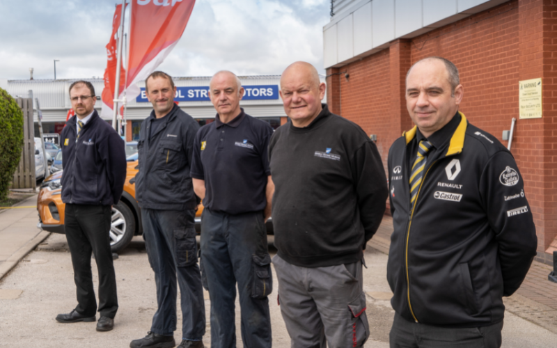 Bristol Street Motors Colleagues In Derby Celebrate 100 Not Out!