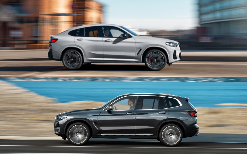 Meet The All-New BMW X3 And BMW X4