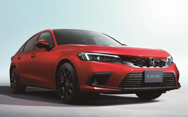 Honda Reveals The All-New 2022 Civic Five-Door