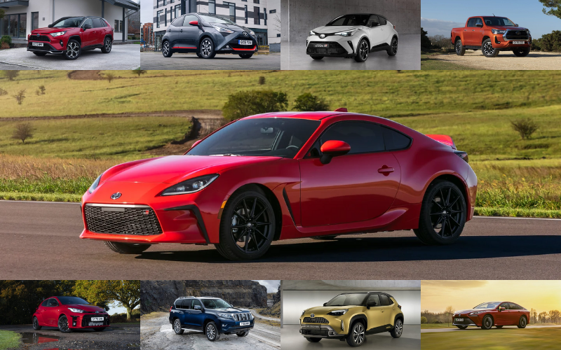 Which Toyota Model Would You Be?