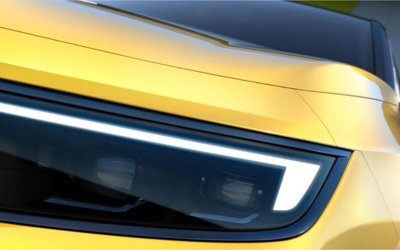 Get A First Glimpse Of The All-New Electric Vauxhall Astra