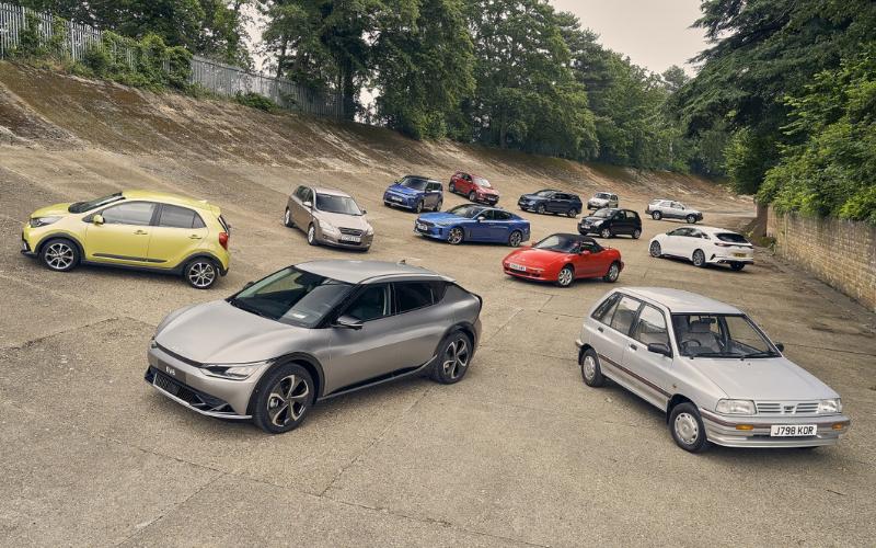 Kia Celebrates 30 Years of Sales in the UK