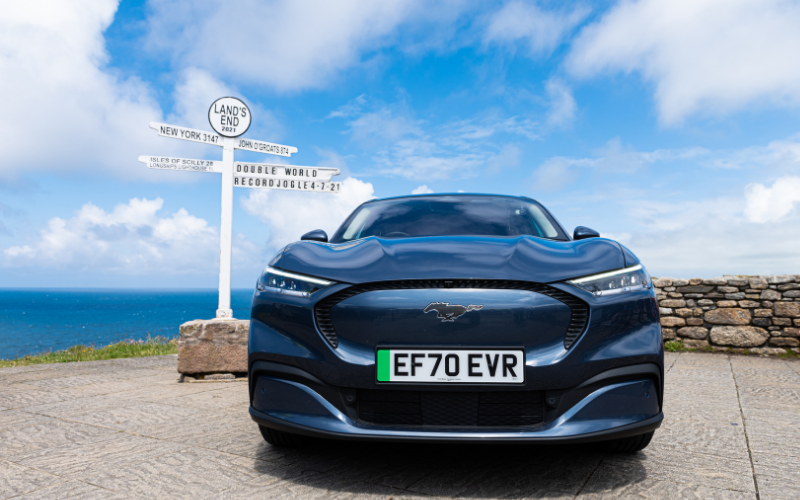 World Record for All-Electric Ford Mustang Mach-E