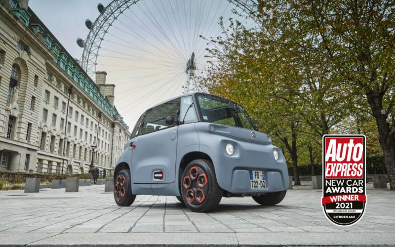 Citroen Ami Takes 'Technology Award' In Auto Express New Car Awards 2021