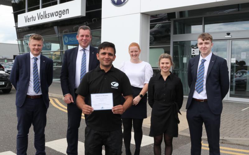 National Award For Harrogate Car Valeter