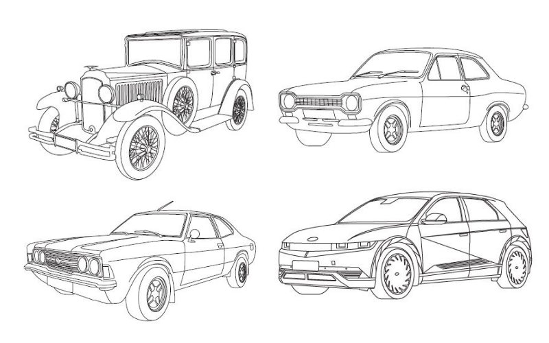 Colour The Cars From Our TV Advert