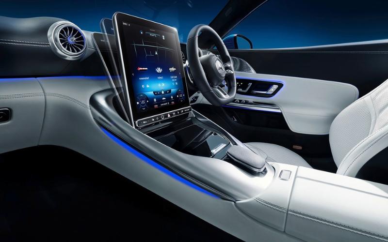 Step Inside the New Mercedes-AMG SL