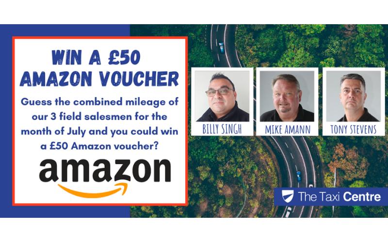 Win A £50 Amazon Voucher!
