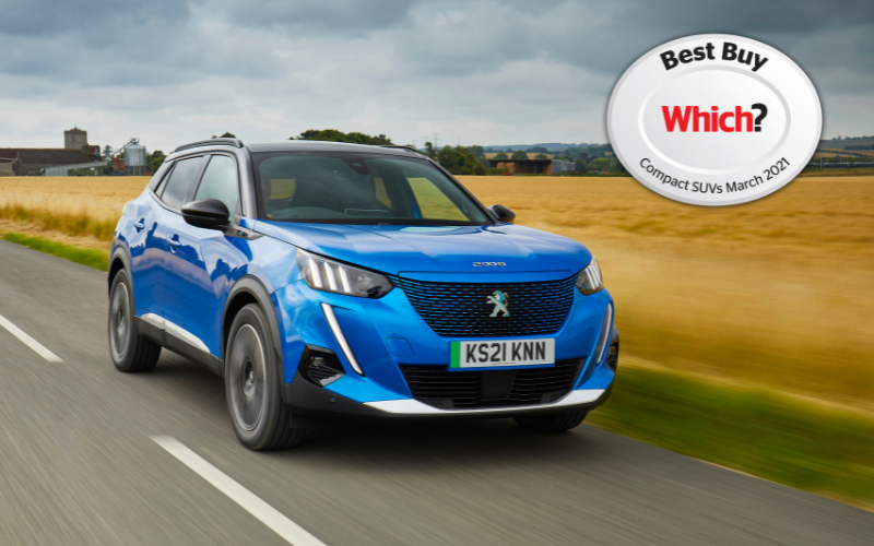 Peugeot e-2008 Awarded Which? Best Buy Title