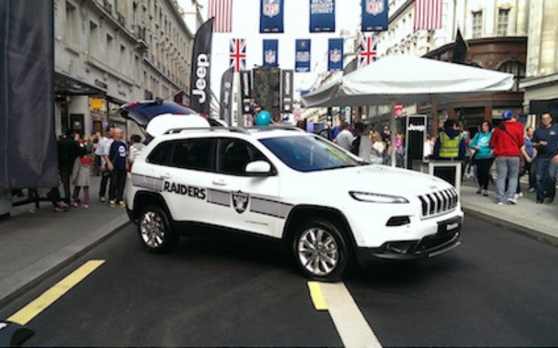 Jeep to support NFL International series in UK game