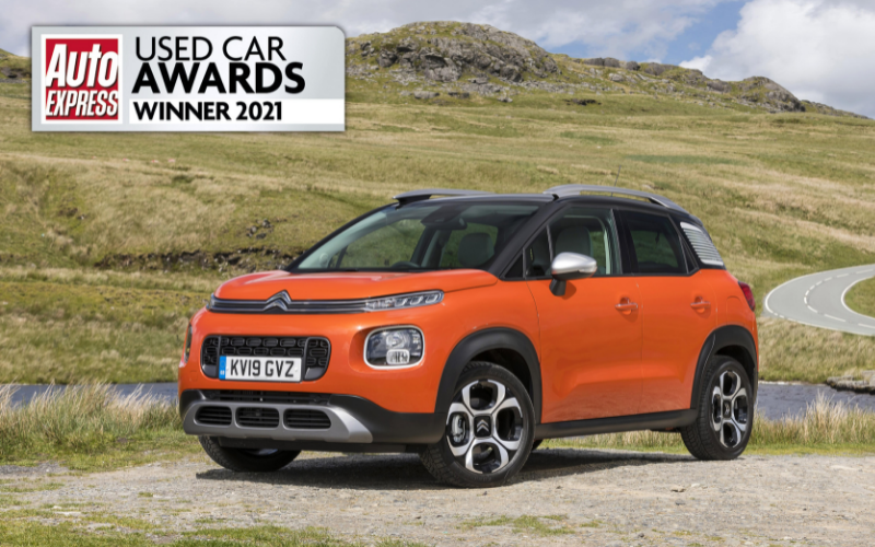 Citroen C3 Aircross Scoops Two Category Wins at the Auto Express Used Car Awards