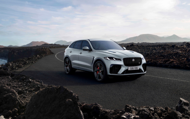 Introducing The All-New Jaguar F-PACE R-Dynamic Black