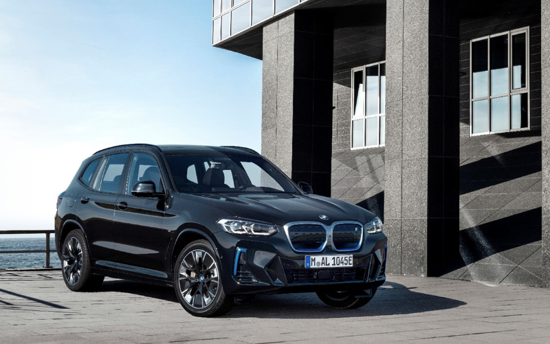 Take A Seat In The All-New BMW iX3