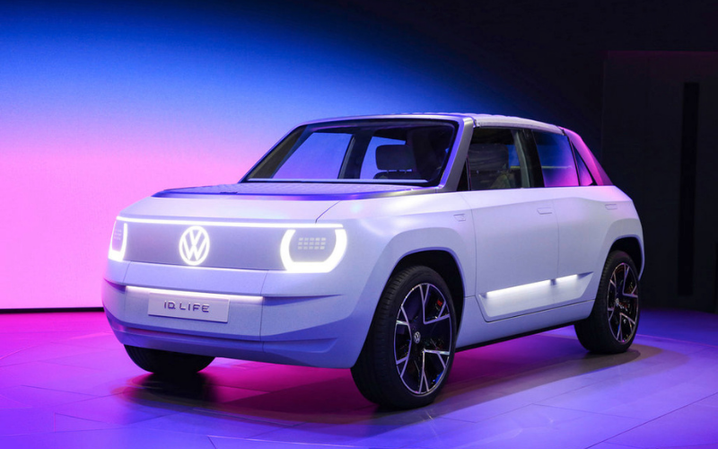 Volkswagen Reveals Entry-Level Electric ID. LIFE Concept