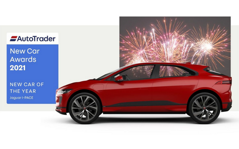 Auto Trader Names Jaguar I-PACE Their 2021 New Car Of The Year