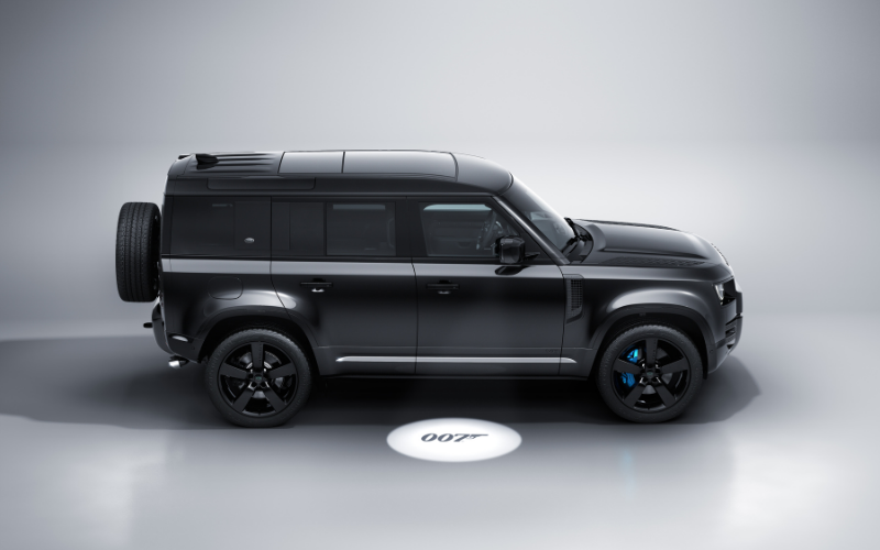 Meet The 007 'No Time To Die' Inspired Land Rover Defender V8