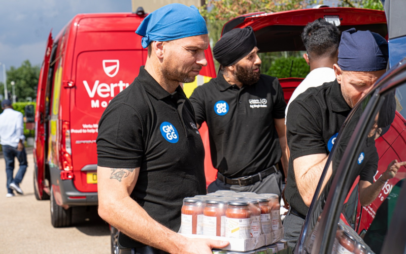 Food Banks Receive Further Support From Vertu Mercedes-Benz Slough