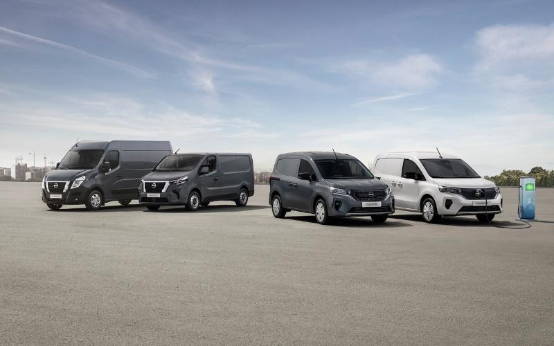 Nissan Refreshes LCV Model Line-Up