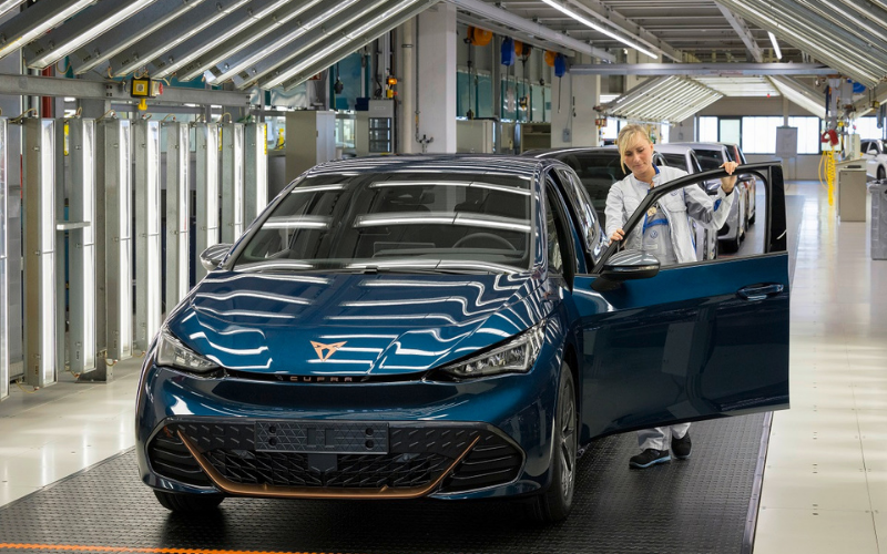 CUPRA Marks New Era With Production of First 100% Electric Car