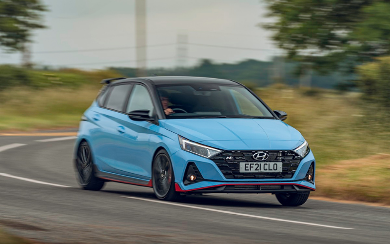 Hyundai i20 N Named Overall Champion at Top Gear Speed Week