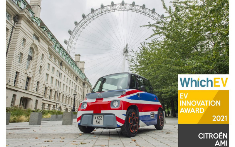 Citroen Receives Two Honours At The WhichEV Awards 2021