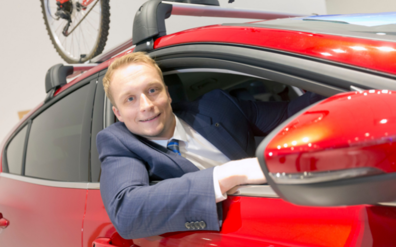 Finance Graduate Moves To Managerial Role At Bolton Ford Dealership