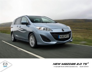 Mazda5 to hit showrooms this month