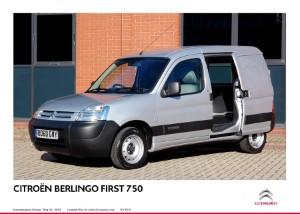 Citroen improves Berlingo payload
