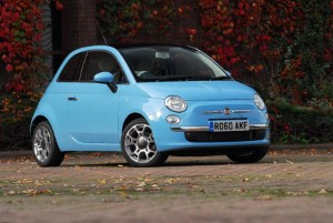 Fiat 500 TwinAir is 'comfortable and stylish', says actor