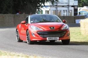 Peugeot RCZ wins Top Gear award