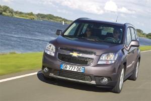 Chevrolet releases Orlando MPV