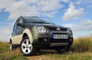 Fiat Panda Cross wins 4x4 award