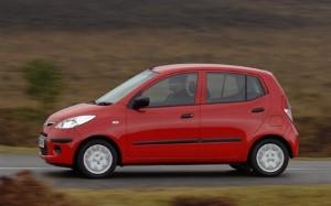 Hyundai i10 ranked top small hatchback