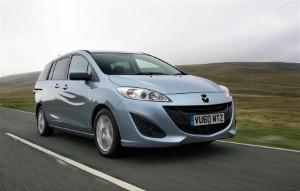 New Mazda 5 hits UK showrooms